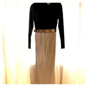 Mac Duggal Ieena long sleeve evening gown